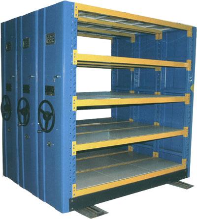 供应衡水优质移动重型货架——山西移动重型货架