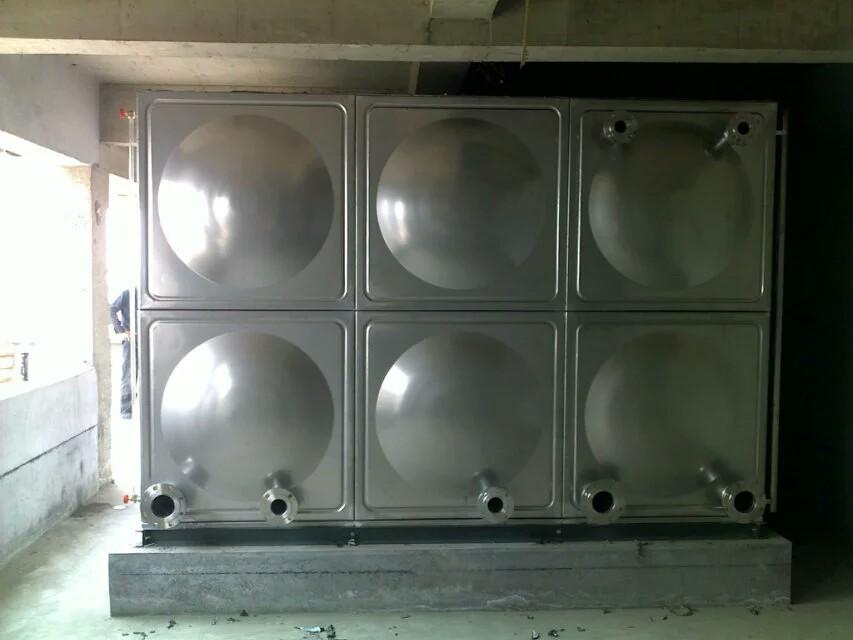 【备受热捧~山东三栋机电设备有限公司】山东胶州不锈钢方形水箱