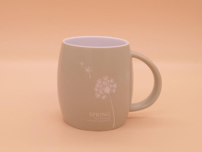 陶瓷杯广告logo定制价格-茶杯