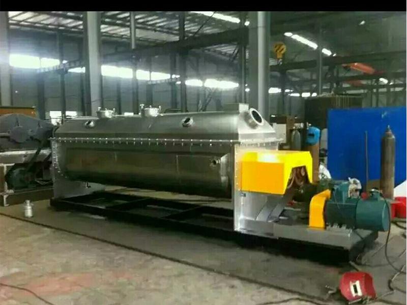常州污泥干燥机 供应江苏热销空芯桨叶干燥机