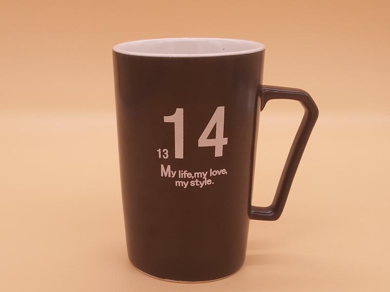 供应品质优良的亚光情侣高款对杯-安徽陶瓷杯