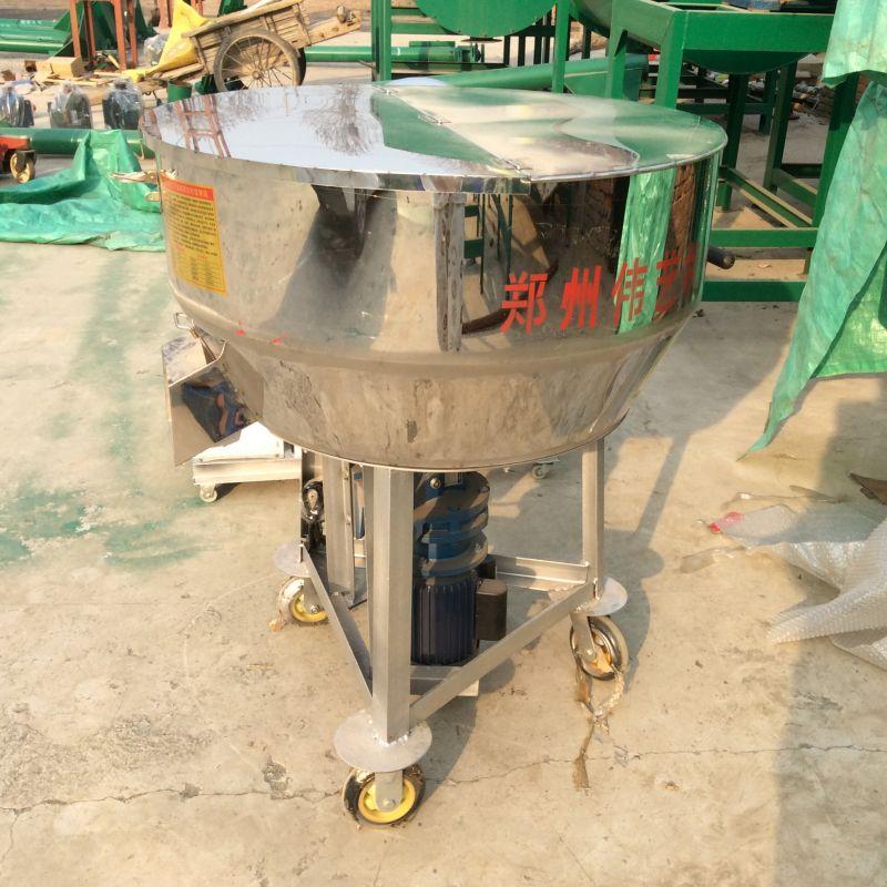 干湿饲料搅拌机不锈钢移动式饲料拌料机