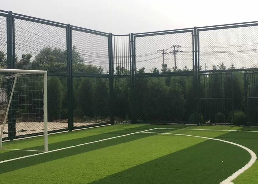 甘肃体育场地围网_要买可靠PE围网笼式足球场,当选斯波特体育设备设施