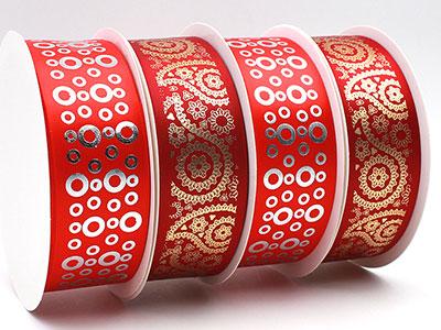缎带定制-哪里买实用的热固凸版烫金烫银印刷丝缎带
