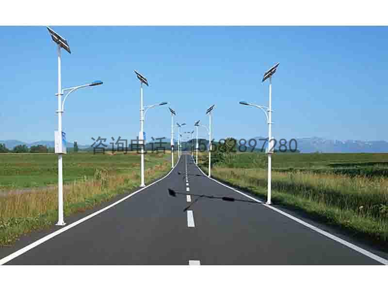 兰州太阳能路灯厂家供货_兰州升降限高杆