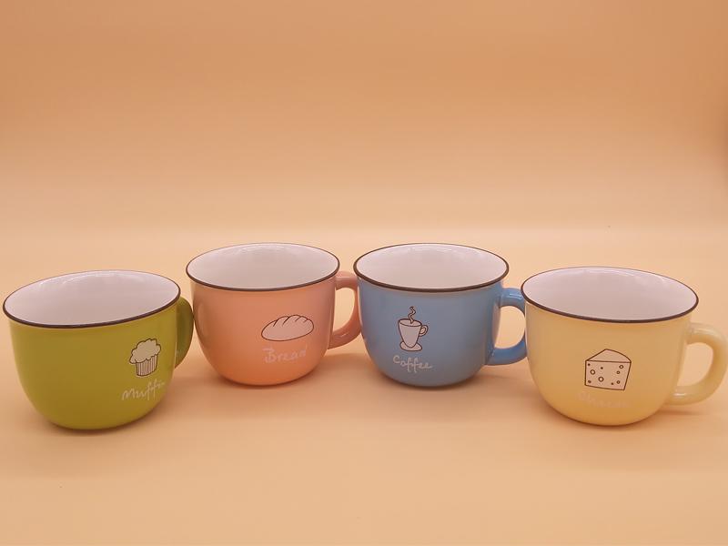 有品质的创意四色小号咖啡杯批发商-水杯定制
