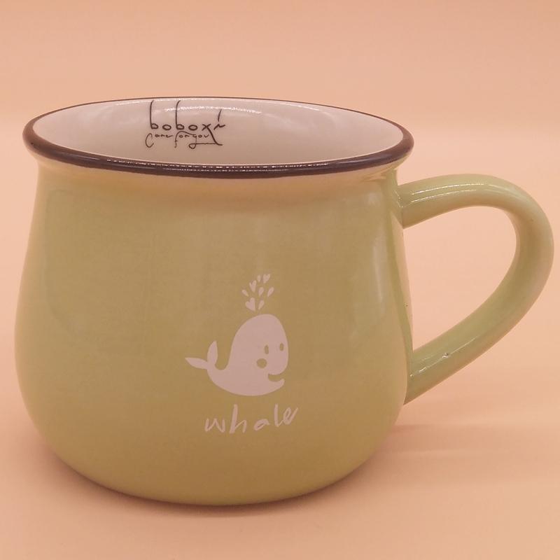 广东陶瓷杯 想买品质好的大肚杯卡通创意早餐杯马克杯就到永德福家居