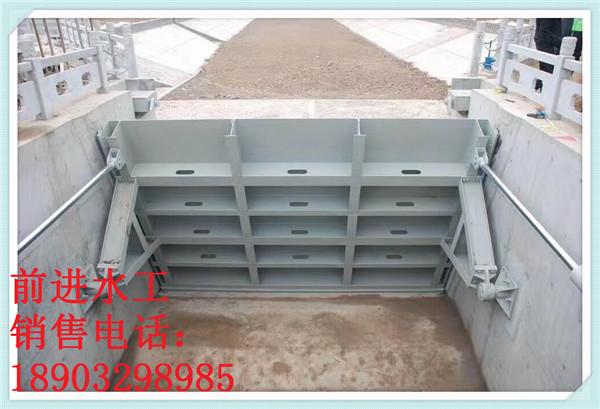 邢台哪里有卖划算的翻板闸门-设计水力自动翻板钢制闸门