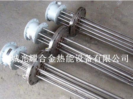 盐城光耀合金热能设备提供专业的加热元件 电热管厂家