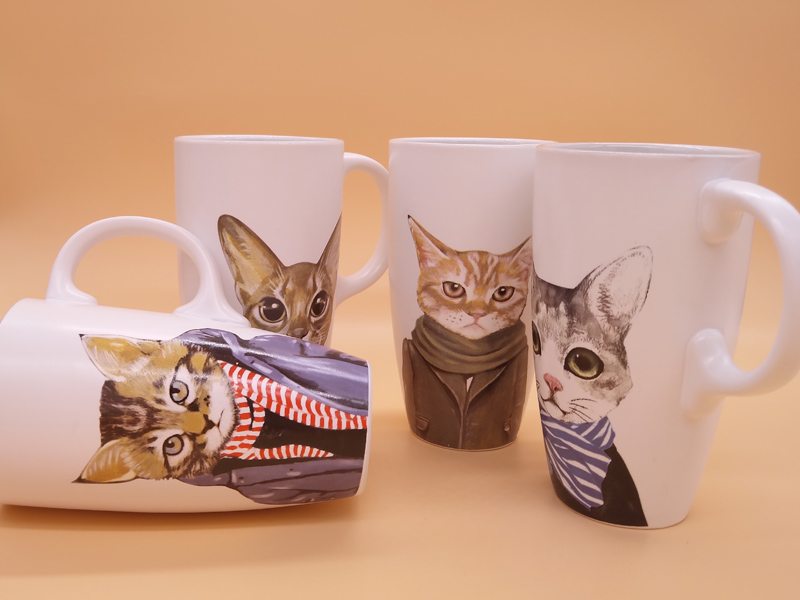 北京陶瓷杯|有品质的喵星人文艺陶瓷马克杯茶水杯厂家推荐