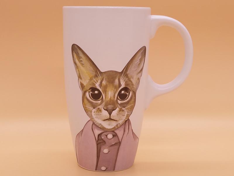 陶瓷馬克杯 在哪能買到高質量的喵星人文藝陶瓷馬克杯茶水杯