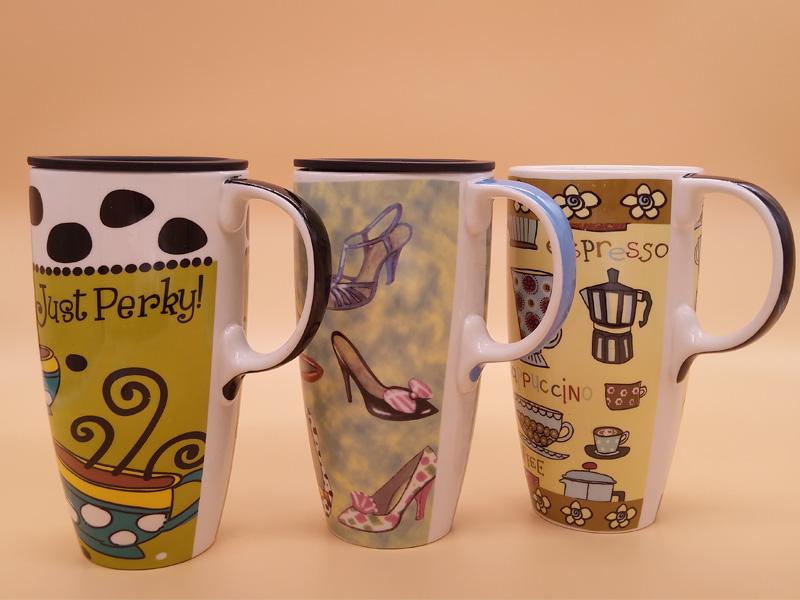 福州質量好的歐式風情侶馬克杯批發,陶瓷杯蓋子
