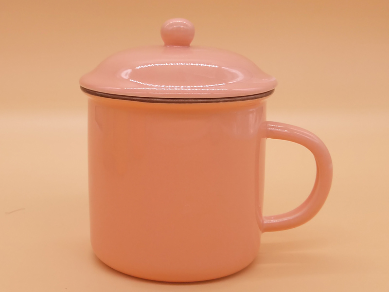 青花瓷_品质全色釉陶瓷杯水杯带盖勺专业供应