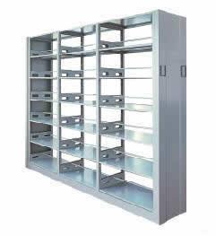 质量可靠的的钢制双面书架推荐 精美的钢制双面书架