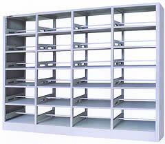 衡水钢制双面书架专业供应 钢制双面书架经济实惠