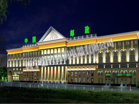 楼体亮化显示屏可靠厂家_西宁偏转照明电器 青海LED亮化公司