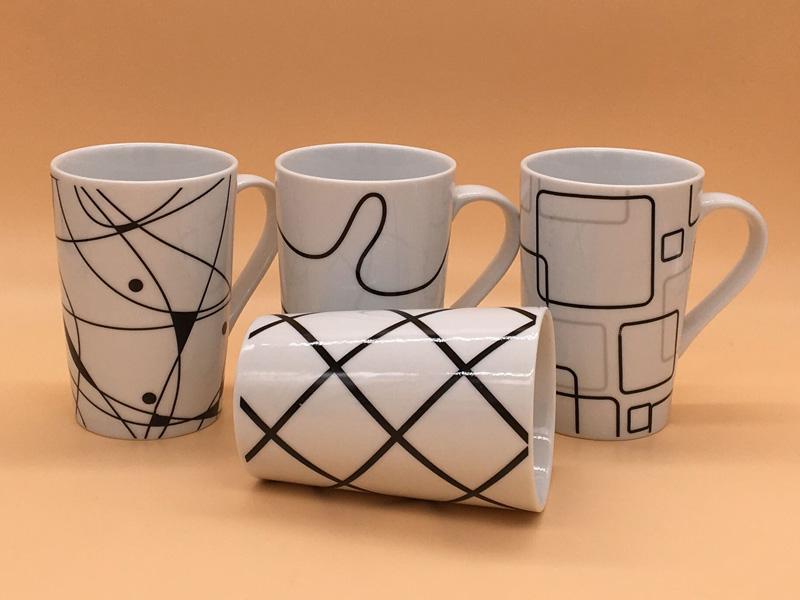 福建可靠的创意点线面陶瓷杯马克杯供货商-礼品公司