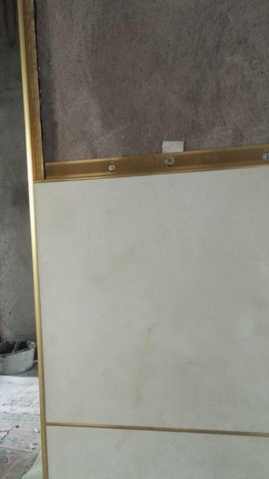 八金龍建材有限公司質量好的裝飾一體化金邊掛件新品上市 出口裝飾一體化金邊掛件,不要龍骨,不要打膠縫