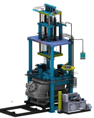 鸿通机械优良的铝合金低压铸造机-轮毂
