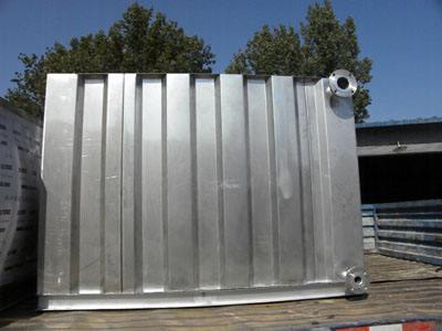 kan:【度娘力荐】山东莱西方形不锈钢拼装水箱厂家+供水机组
