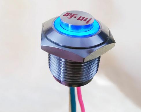 12mm金属防水开关-购买合格的按钮开关优选长丰测温器件