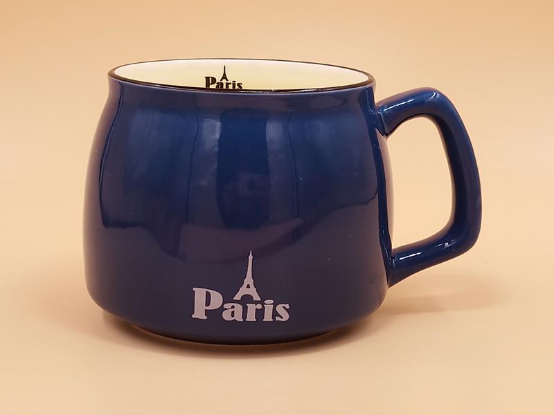 创意圆形卡通ZAKKA咖啡陶瓷杯厂家怎么样 创意广告