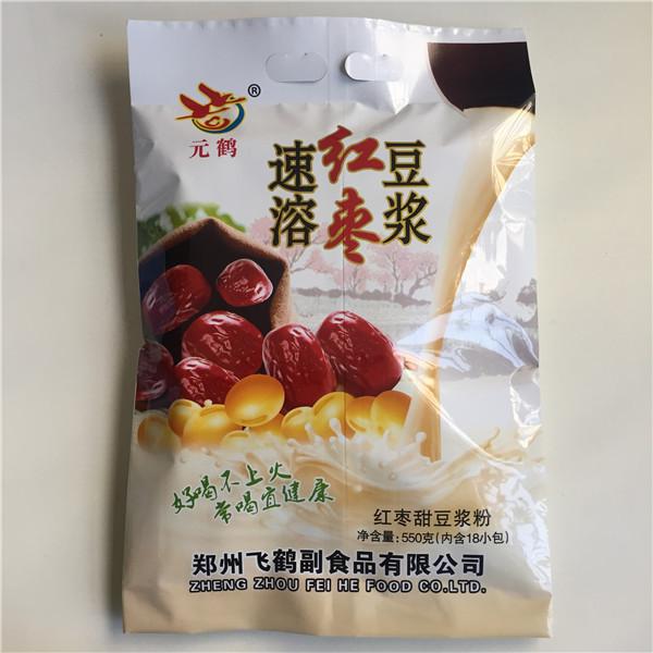 开封红枣豆浆粉品牌|采购报价合理的红枣豆浆粉就找郑州飞鹤副食品