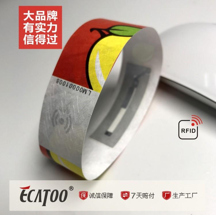 广东哪里可以买到品牌好的游乐场景区门票识别杜邦纸手环-杜邦纸厂家