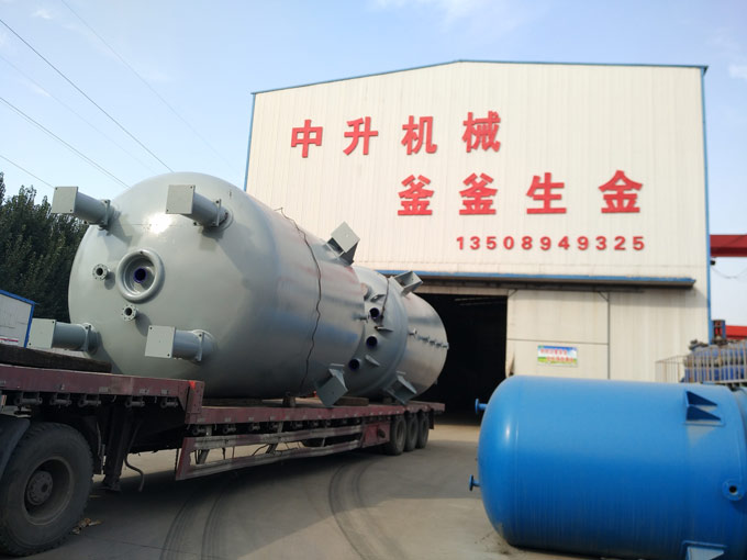 山东搪玻璃反应釜-买性价比高的搪玻璃反应釜就到淄博中升机械