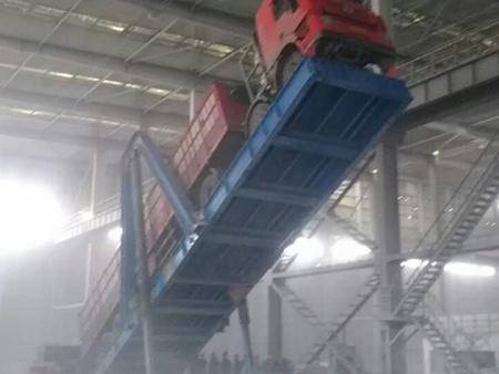 质量良好的后翻式液压卸车翻板烟台未来自动供应-海南液压卸车翻板