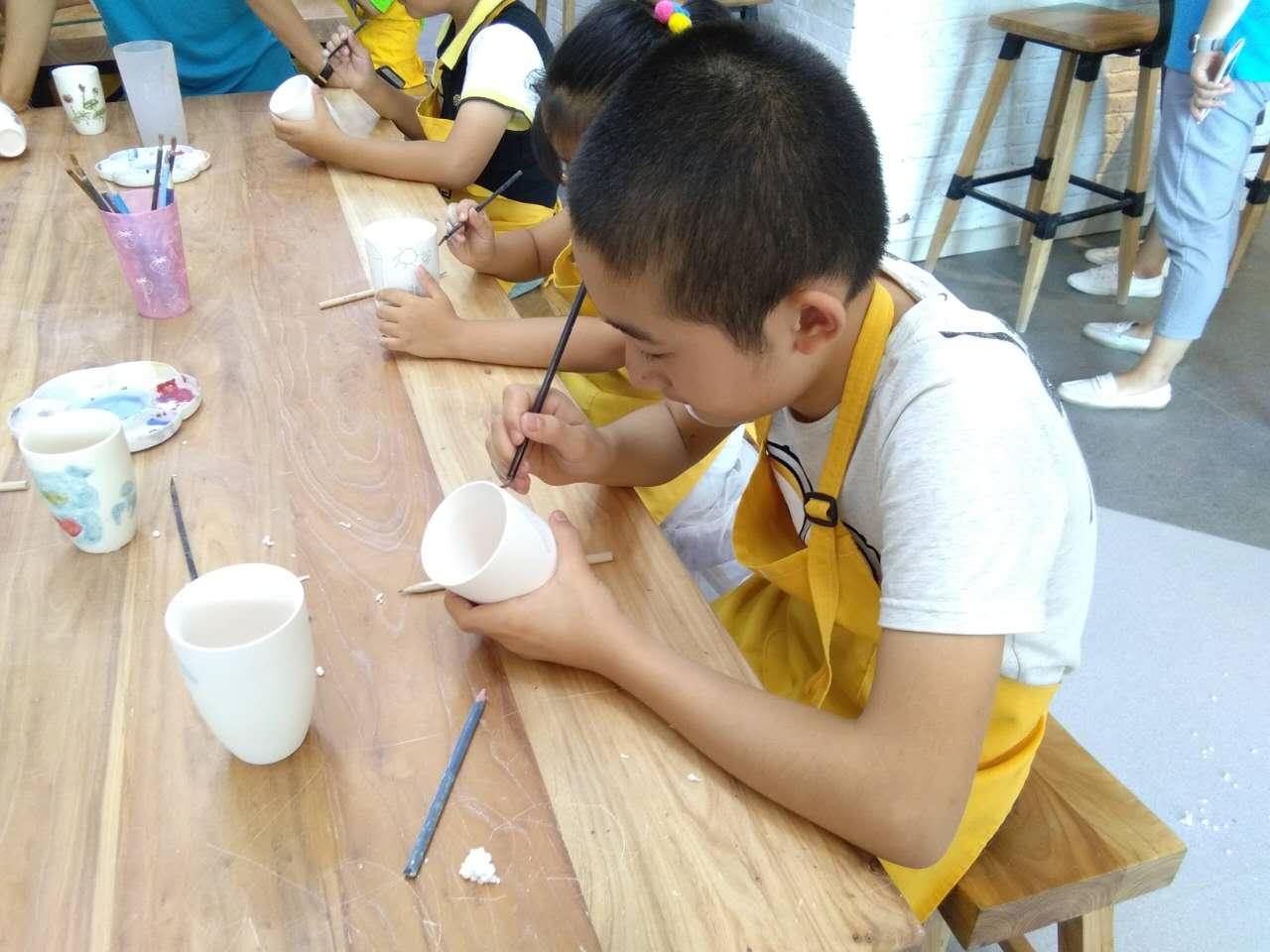 价格划算的手工陶艺diy-青岛实惠的儿童手工陶艺加盟
