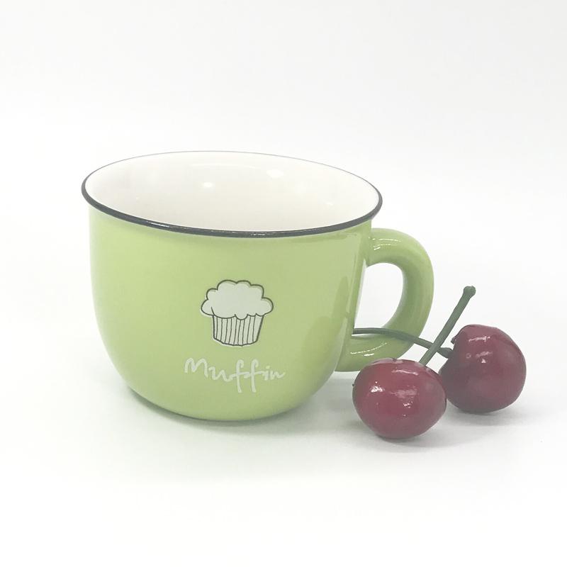 杯子图片 福建知名的四色小号咖啡杯供应商