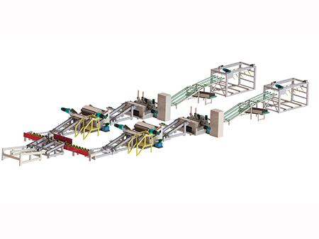 群山機械四尺旋切機流水線怎么樣_供銷厚芯板旋切生產線