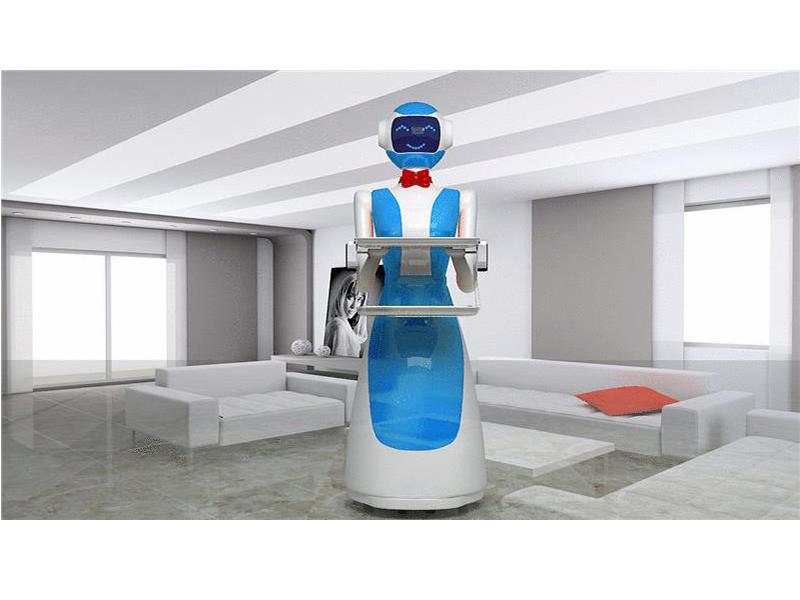 专业订做送餐机器人-供应密云县品质好的送餐机器人小美