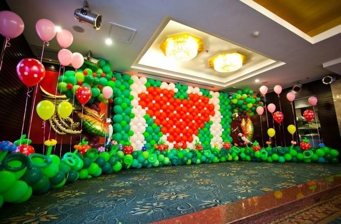派对策划装饰定制业务包您满意,东营气球造型培训