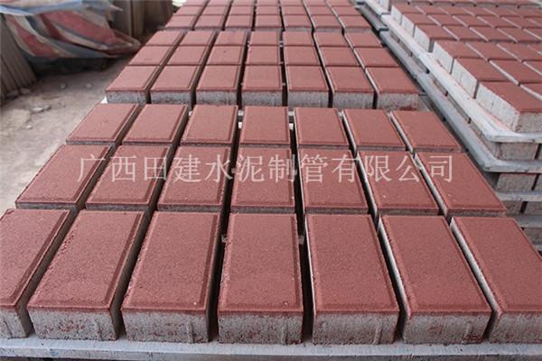 南宁水泥透水砖价格-选购透水砖认准广西田建水泥制管