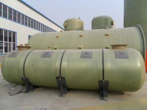 知名的储罐供应商_新意复合材料 上海卧式玻璃钢储罐