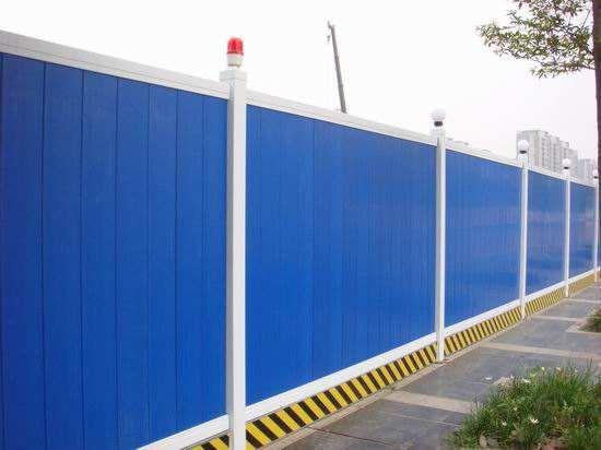 建筑围挡费用_郑州田林物资为您供应好的工程围挡钢材