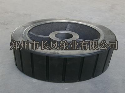 吉林摩擦搅拌机胶轮厂家-买摩擦搅拌机胶轮就来长风轮业