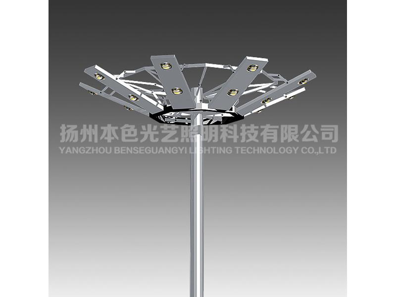户外高杆灯|买好的led高杆灯,就选扬州本色光艺照明