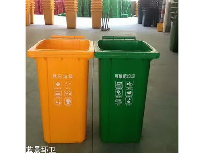 银川性价比高的宁夏分类垃圾桶供应|中卫环保分类垃圾桶厂家