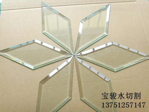 东莞哪里有专业的玻璃水切割加工-异形玻璃水切割