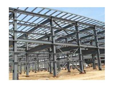 白銀鋼結構廠房_供應甘肅好質量的鋼結構