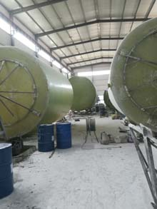 在哪能买到放心的玻璃钢污水罐,广州污水处理罐