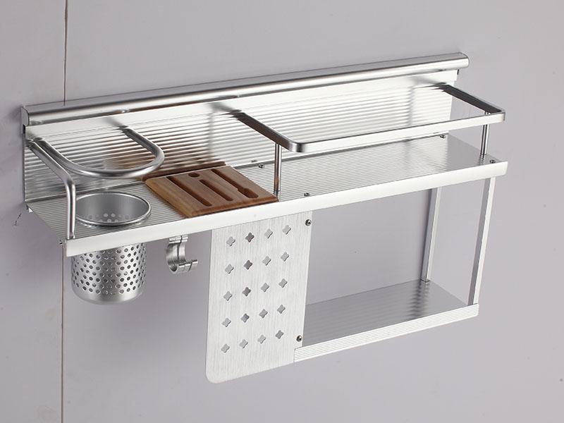 厨房刀架相关产品_口碑好的太空铝双层刀架供应商,当选尚耀金属科技