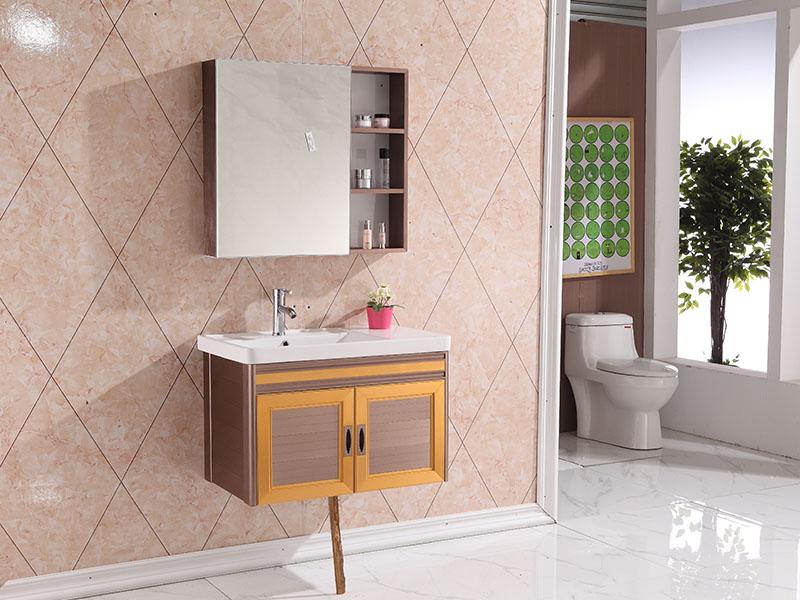 佛山太空铝浴室吊柜供应商推荐,厂家直销太空铝浴室柜