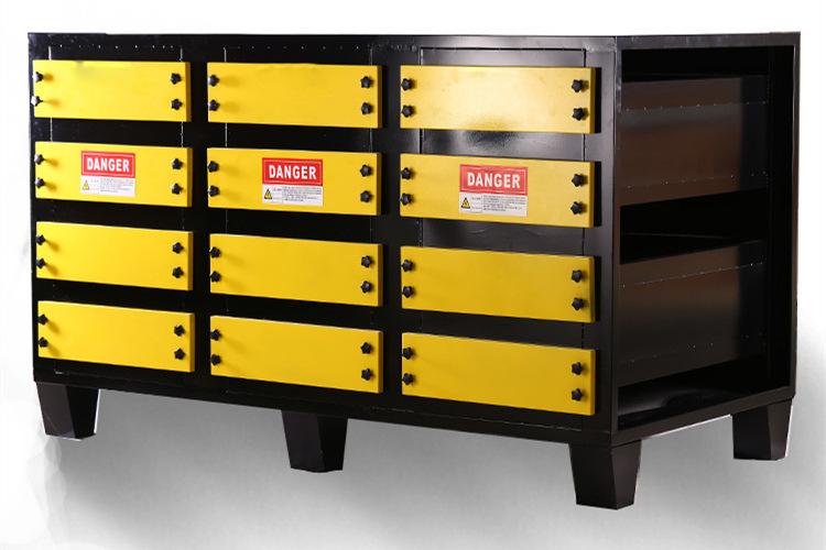 disk静电喷漆线公司 厦门品牌好的环保废气处理活性碳吸附箱批售