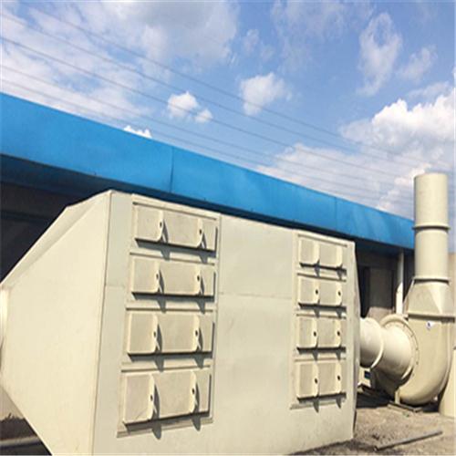 厦门热销环保废气处理活性碳吸附箱哪里买,宁德disk静电喷漆线