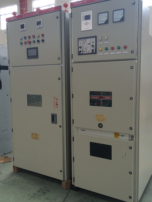 双友电气提供1800KW/6KV高压固态软起动一体化柜