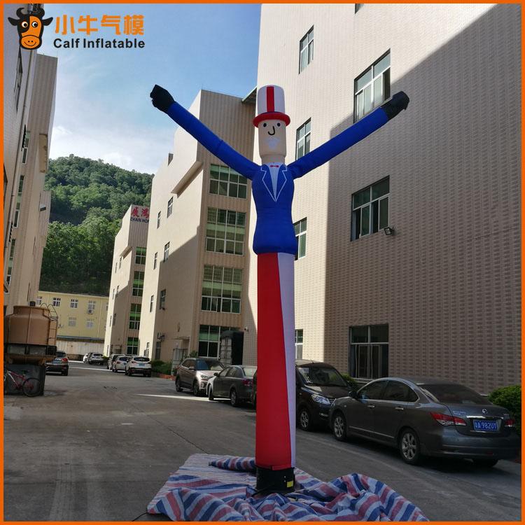 供应充气模型_东莞市小牛�充气模型供应物超所值的国旗版人▲型舞星
